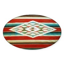 Old Mexican Serape Shoulder Bag Decal