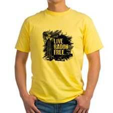 Live Radon Free - Lung Cancer Aware T