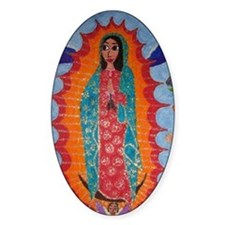 Our Lady of Guadalupe Balloon Decal
