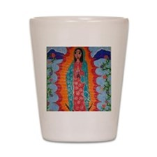 Our Lady of Guadalupe Balloon Shot Glass