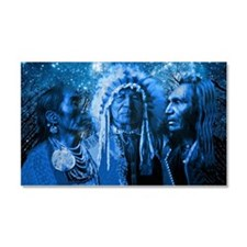 Three Chiefs Car Magnet 20 X 12
