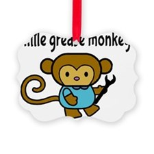 Little Grease Monkey Picture Ornament
