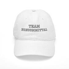 Team NONCOMMITTAL Baseball Cap
