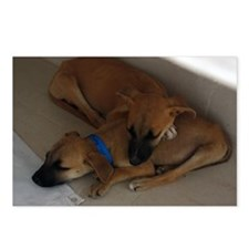 Brother  Sister sleeping Postcards (Package of 8)