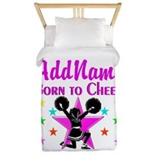 BORN TO CHEER Twin Duvet