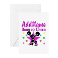 BORN TO CHEER Greeting Cards (Pk of 20)