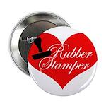 Rubber Stamper - Heart Button