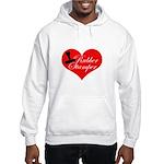 Rubber Stamper - Heart Hooded Sweatshirt