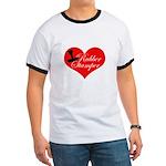 Rubber Stamper - Heart Ringer T
