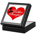 Rubber Stamper - Heart Keepsake Box