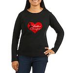 Rubber Stamper - Heart Women's Long Sleeve Dark T-