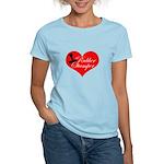 Rubber Stamper - Heart Women's Light T-Shirt