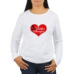 Rubber Stamper - Heart Women's Long Sleeve T-Shirt