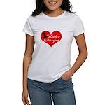 Rubber Stamper - Heart Women's T-Shirt
