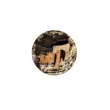 montezuma castle Mini Button