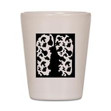 Cow Print Shot Glass