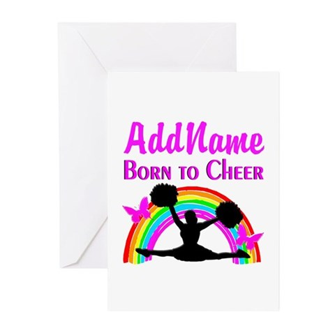 CHEERING CHAMPION Greeting Cards (Pk of 10)