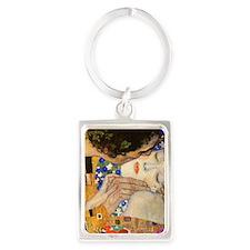 Klimt Portrait Keychain