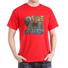Save Sea Otters T-Shirt