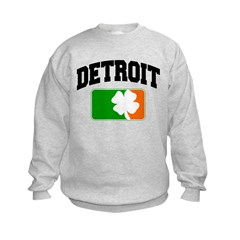 Detroit Shamrock Kids Sweatshirt