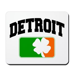 Detroit Shamrock Mousepad