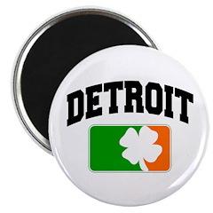 "Detroit Shamrock 2.25"" Magnet (10 pack)"