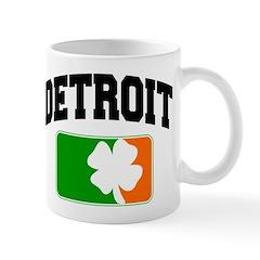 Detroit Shamrock Mug