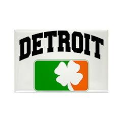 Detroit Shamrock Rectangle Magnet (10 pack)
