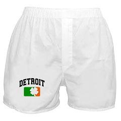 Detroit Shamrock Boxer Shorts