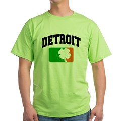 Detroit Shamrock Green T-Shirt