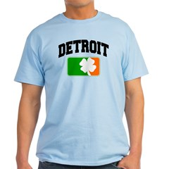 Detroit Shamrock Light T-Shirt