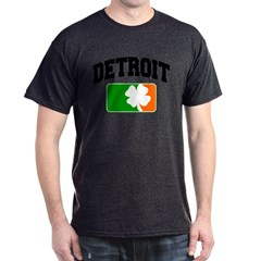 Detroit Shamrock Dark T-Shirt