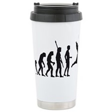 evolution volleyball Ceramic Travel Mug