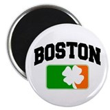 "Boston Shamrock 2.25"" Magnet (10 pack)"