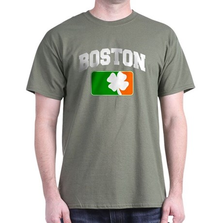 Boston Shamrock Dark T-Shirt