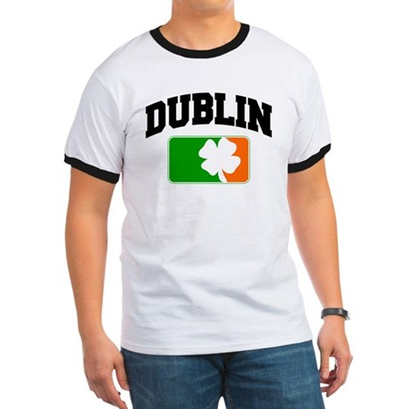 Dublin Shamrock Ringer T
