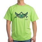 Pictish V-Rod Crescent Green T-Shirt