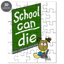 School Can Die Keychain 2 Puzzle