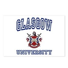 GLASGOW University Postcards (Package of 8)
