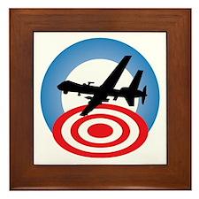 Drone Logo Framed Tile