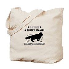 SUSSEX SPANIEL designs Tote Bag