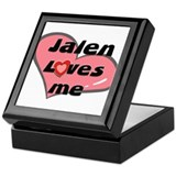 jalen loves me Keepsake Box