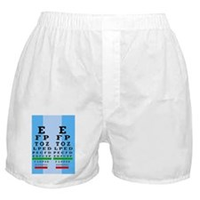 Eye Chart FF 1 Boxer Shorts