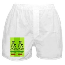 Eye Chart FF 4 Boxer Shorts