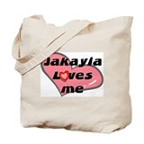 jakayla loves me Tote Bag