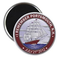 Portsmouth NH CLipper Magnet