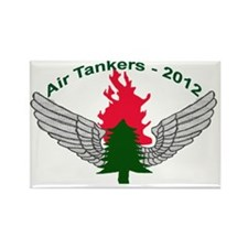 Air Tankers, firefighting Rectangle Magnet