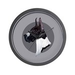 Classic Mantel Great Dane Wall Clock