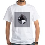 Classic Mantel Great Dane White T-Shirt