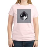 Classic Mantel Great Dane Women's Light T-Shirt